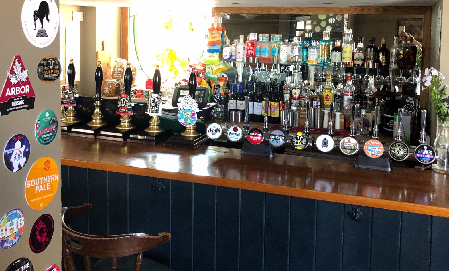 griffin craft cask beer pub frome